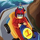Kids Racing in a Go-Kart - GraphicRiver Item for Sale