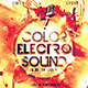 Color Electro Party Flyer - GraphicRiver Item for Sale