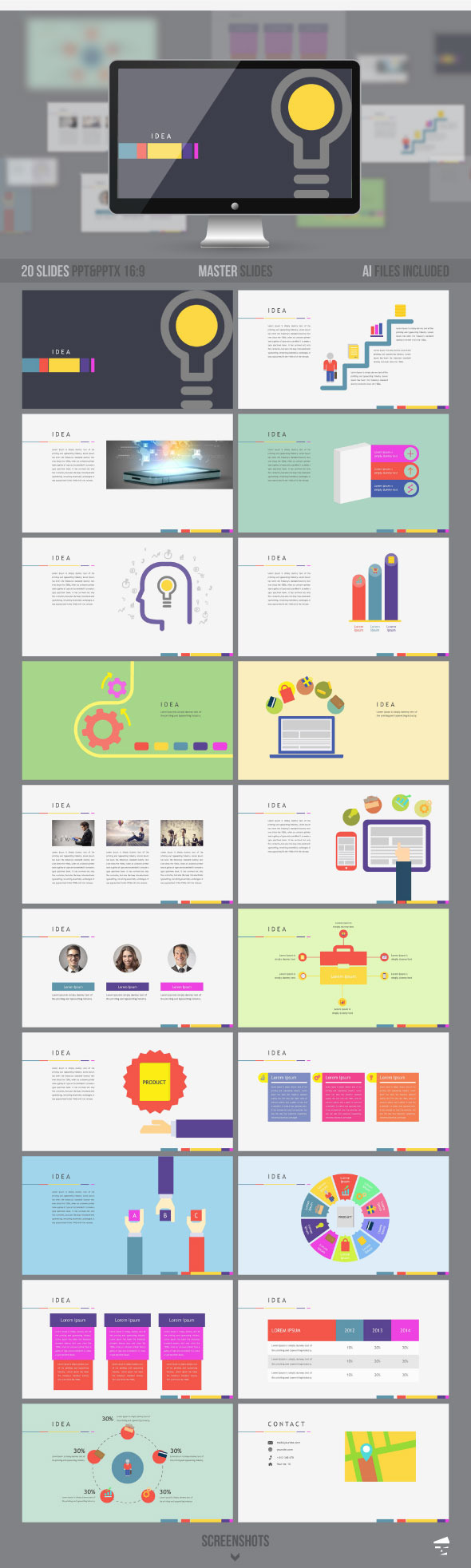 GraphicRiver Business Presentation Template 9529583
