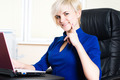 Businesswoman with laptop - PhotoDune Item for Sale