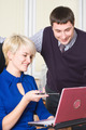 Young beautiful business people work with laptop - PhotoDune Item for Sale