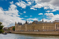 River Seine and the Conciergerie in Paris, France - PhotoDune Item for Sale