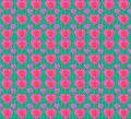 Grunge Style Heart Shaped Pattern - PhotoDune Item for Sale