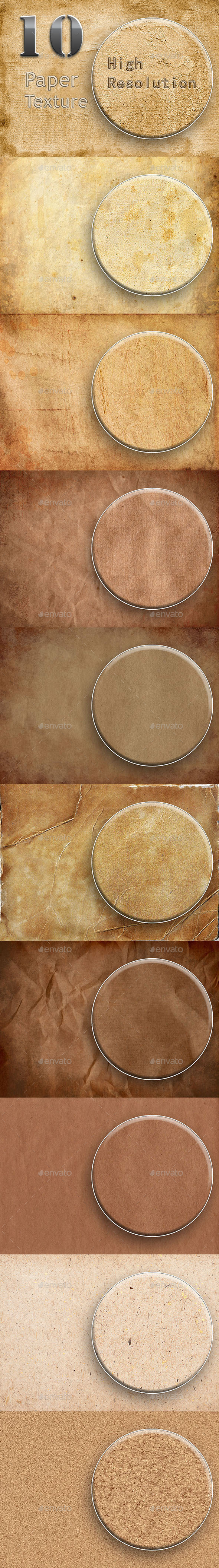 GraphicRiver 10 Paper Texture Part 1 9581371