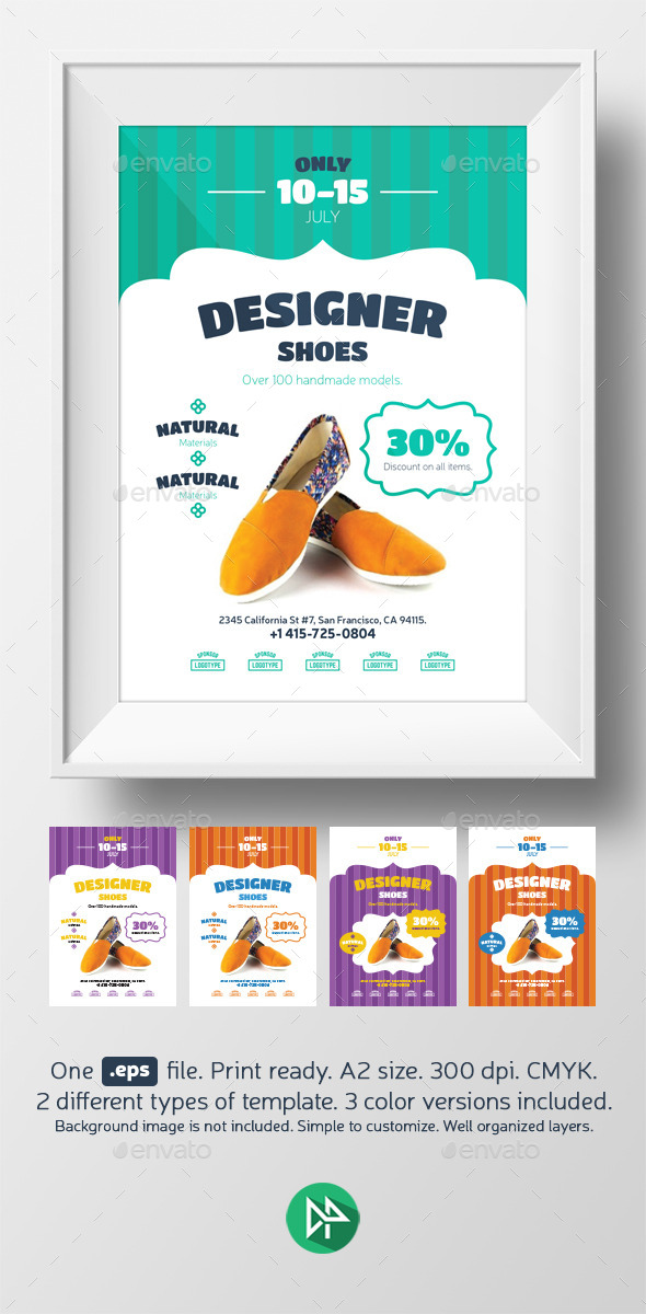 GraphicRiver New shoes promo template 9581612