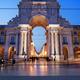 Rua Augusta Arch at Dusk in Lisbon - PhotoDune Item for Sale