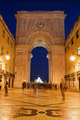 Rua Augusta Arch at Night in Lisbon - PhotoDune Item for Sale