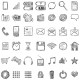 Set of Sketch Mobile Icons - GraphicRiver Item for Sale