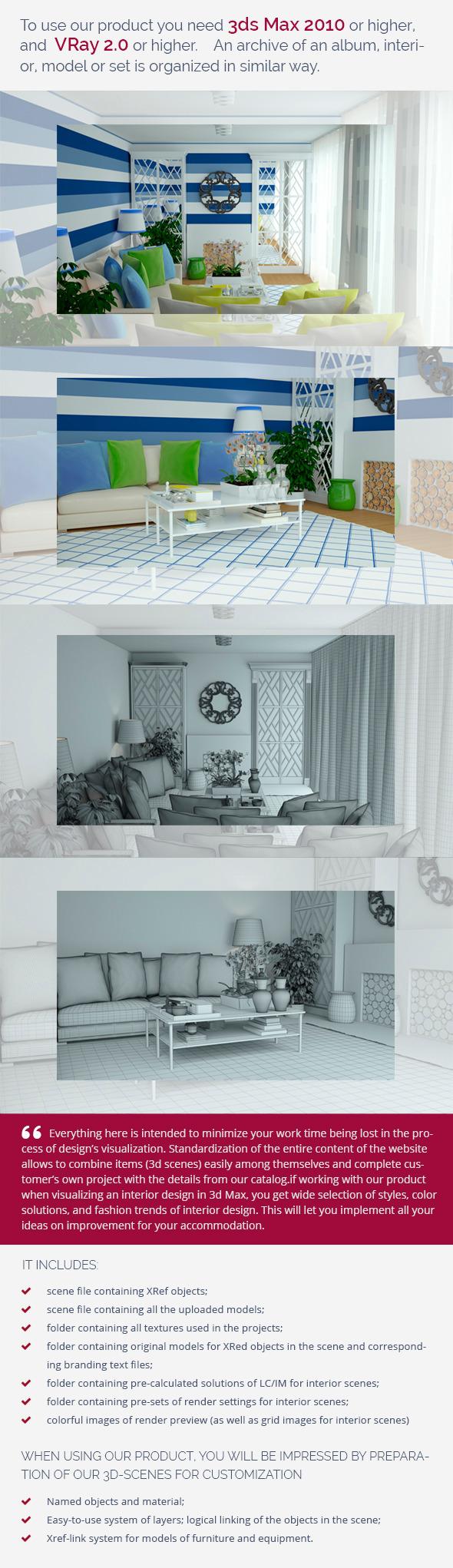3DOcean Living Room 0440 9582016