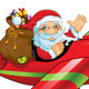 Santa Claus with Air - GraphicRiver Item for Sale