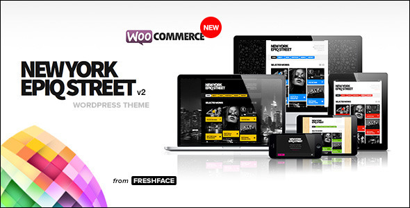 New York Epiq Street - Creative WordPress Theme - Portfolio Creative