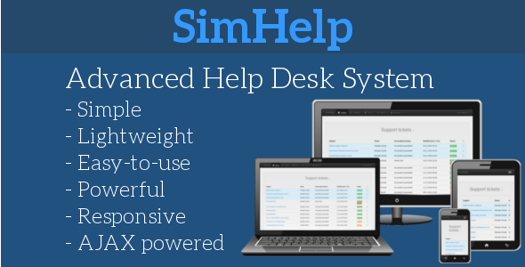 CodeCanyon SimHelp Powerful Help Desk System 9582586