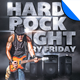 Hard Rock Night Flyer Template - GraphicRiver Item for Sale