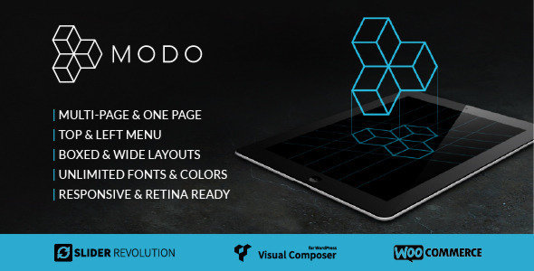 MODO  Multi-Purpose Responsive Theme - Creative WordPress
