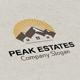 Peak Estates Logo - GraphicRiver Item for Sale