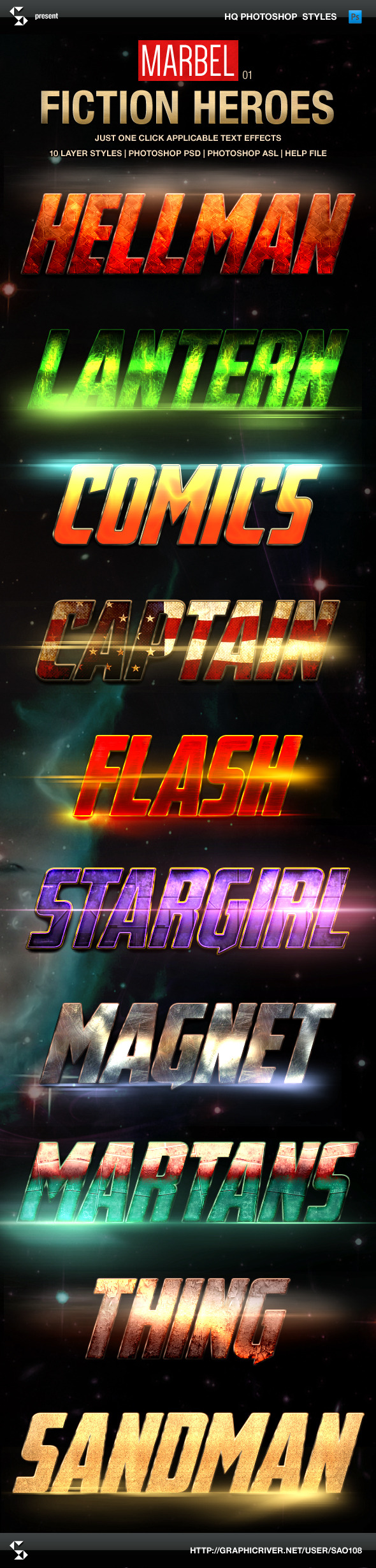 GraphicRiver Blockbuster Heroes Style Text Effects 01 9583057