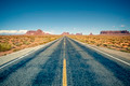 Desert highway leading into Monument Valley - PhotoDune Item for Sale