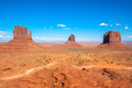 Monument valley under the blue sky - PhotoDune Item for Sale
