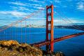 Famous Golden Gate Bridge - PhotoDune Item for Sale