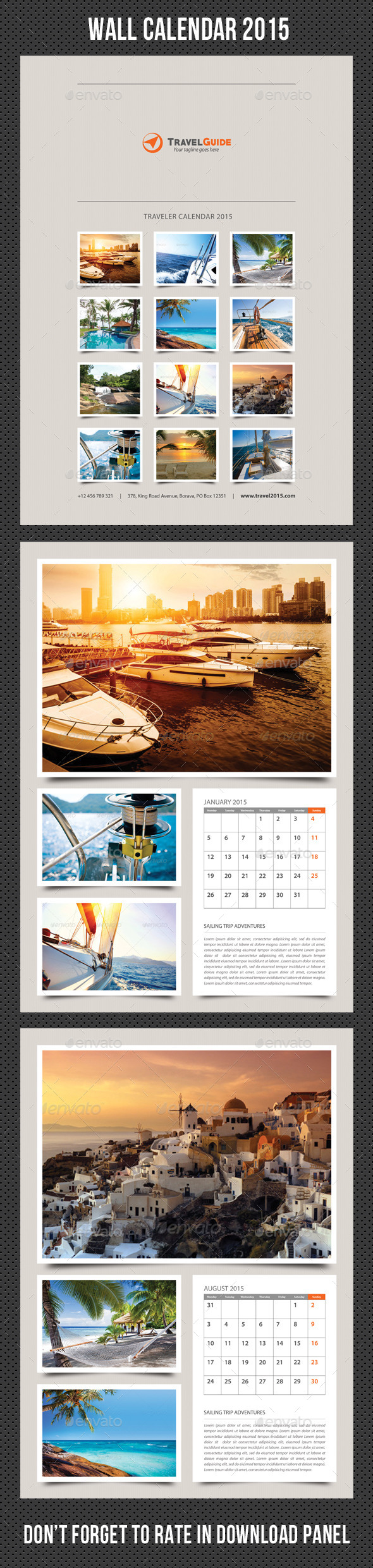 GraphicRiver Wall Calendar 2015 V20 9583665