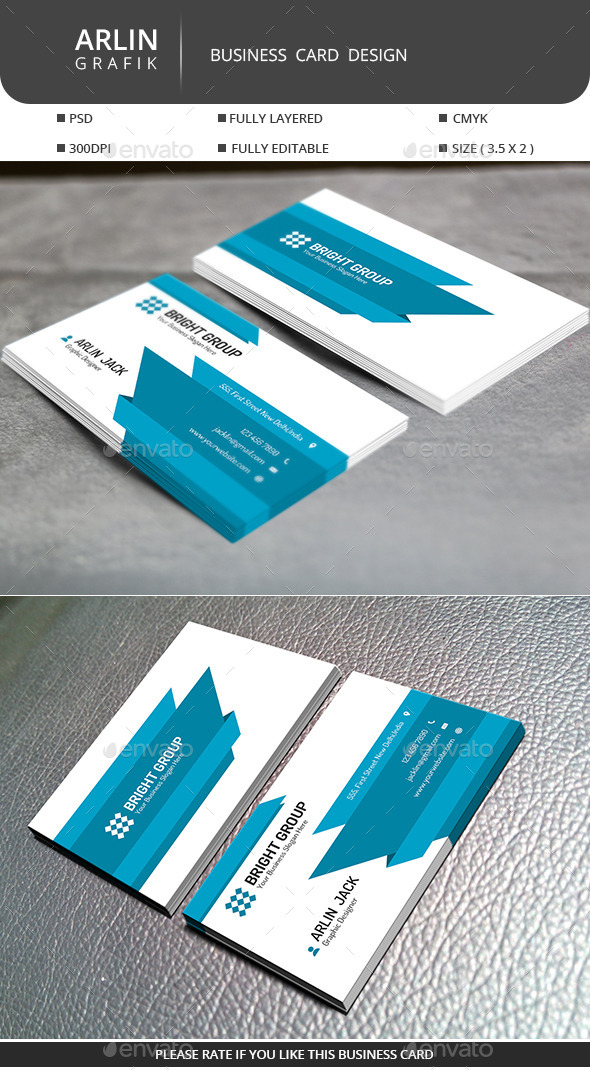 GraphicRiver Creative Business Card 9583701