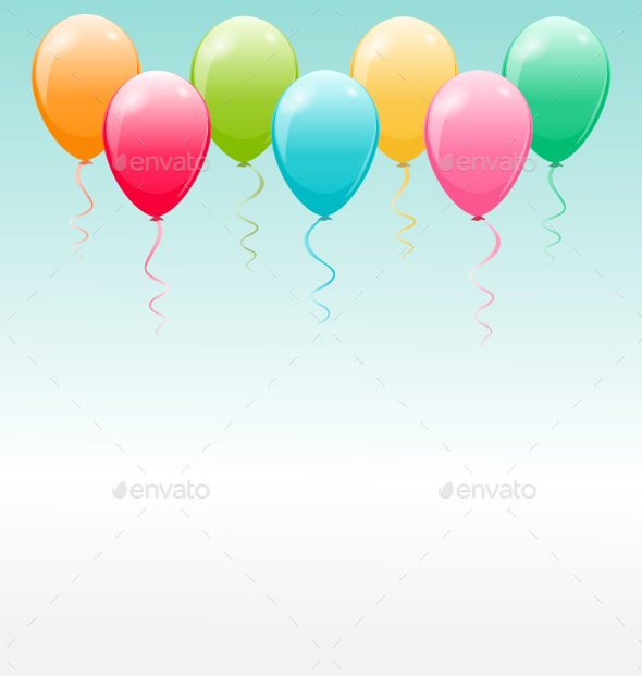 GraphicRiver Balloon Background 9583764