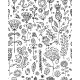 Floral Pattern Sketch for your Design - GraphicRiver Item for Sale