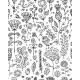 Floral Pattern Sketch for your Design - GraphicRiver Item for Sale