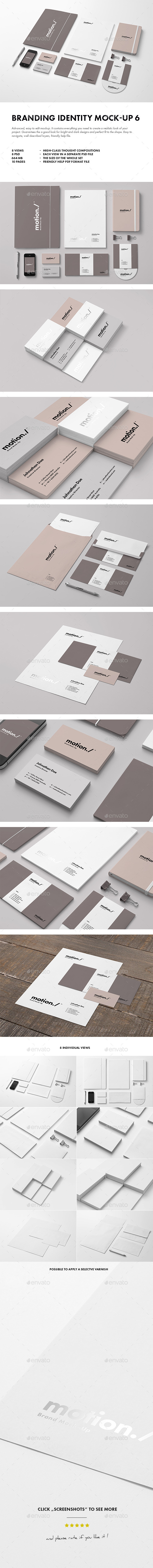 GraphicRiver Branding Identity Mock-up 6 9583863