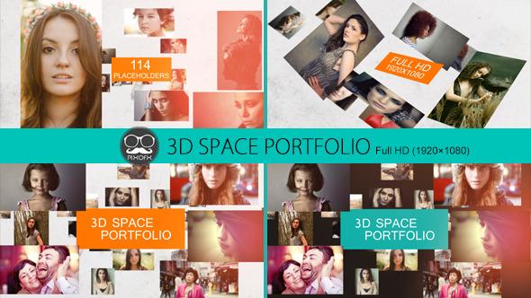3D Space Portfolio