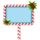 Candy Cane BillBoard - GraphicRiver Item for Sale
