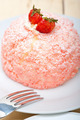 fresh strawberry and whipped cream dessert - PhotoDune Item for Sale