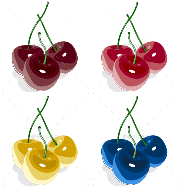 GraphicRiver Cherries 9584181