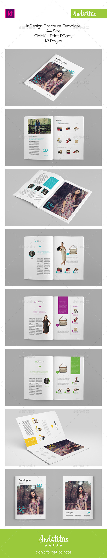 GraphicRiver Multipurpose Brochure Catalog Template 9514423