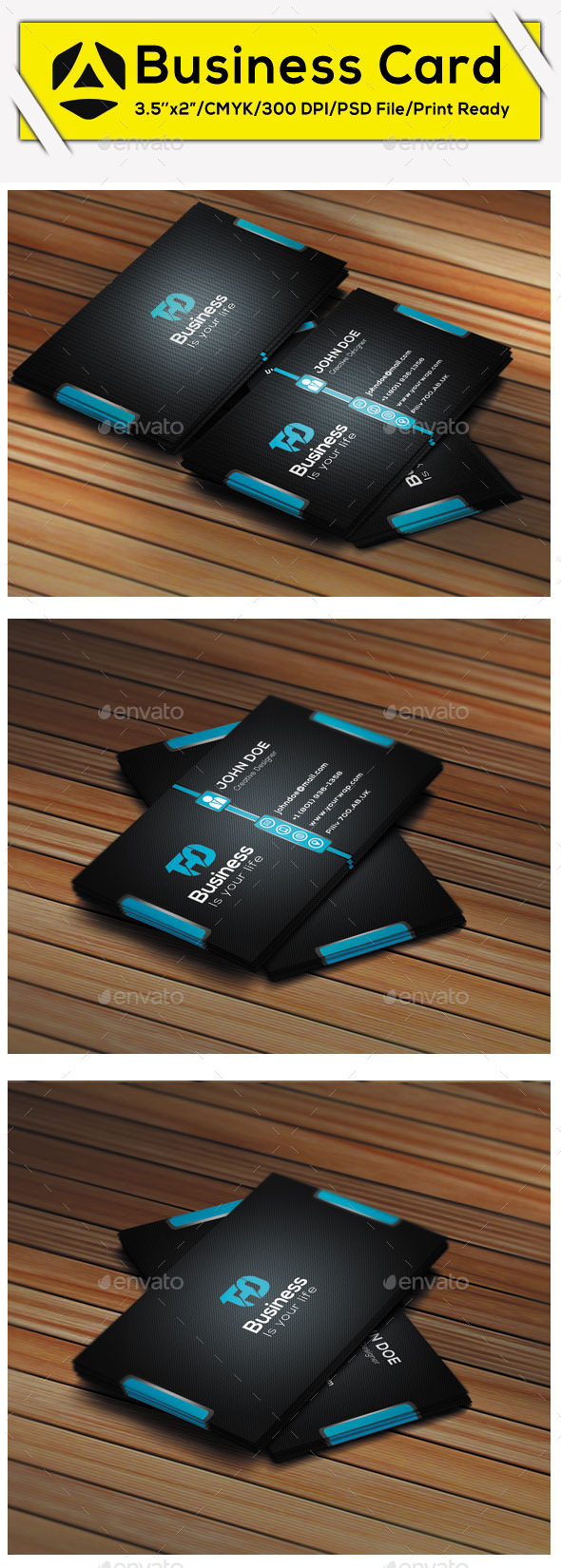 GraphicRiver Creative Business Card 9584524
