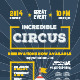Circus Poster Template - GraphicRiver Item for Sale
