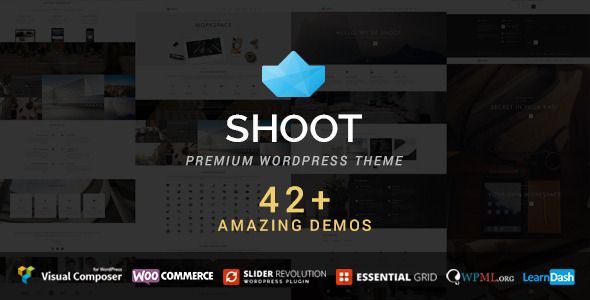 ThemeForest Shoot Multipurpose & Multi Styled Theme 9431783
