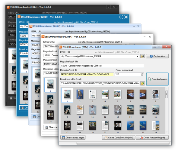ISSUU Downloader magazine & ebooks