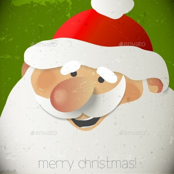 GraphicRiver Santa Claus Greeting Card 9584719