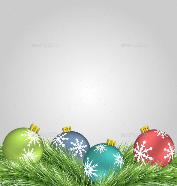 GraphicRiver Christmas Balls 9584937