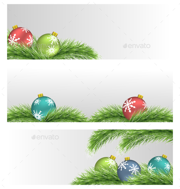 GraphicRiver Christmas Balls 9585161