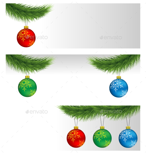 GraphicRiver Christmas Balls 9585179