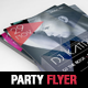 Abstract Party Dj Flyer Template - GraphicRiver Item for Sale