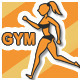 Gym Pictoman Icons - VideoHive Item for Sale