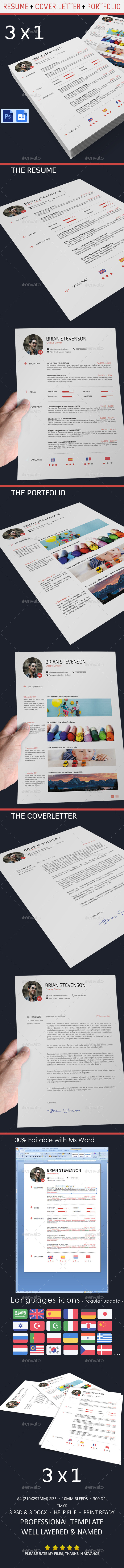 GraphicRiver Resume 9585459