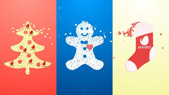 Stylish Christmas Logo