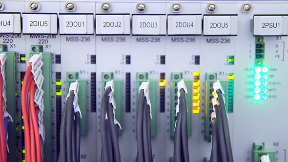 Control Cabinet at Electrical Substation 02