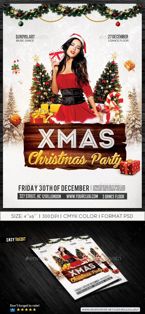 GraphicRiver Christmas Party 9585542