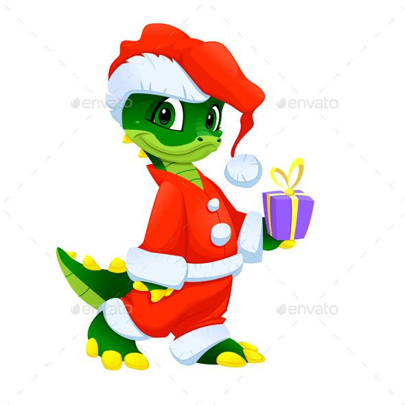 GraphicRiver Christmas Cartoon Character 9585587