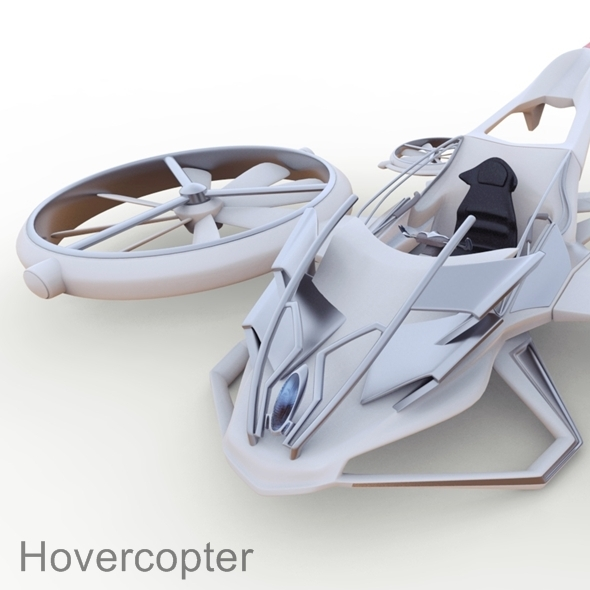 3DOcean Hovercopter concept 9585591